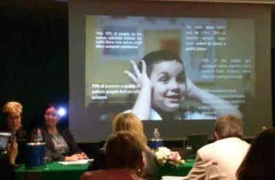 Una diapositiva del progetto ASDEU