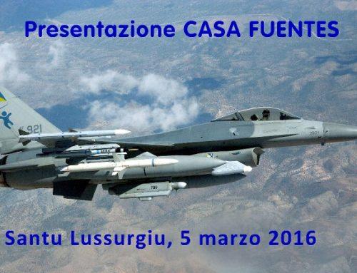Presentazione CASA FUENTES a Santu Lussurgiu (5 marzo 2016)